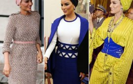 A Year In Style: Sheikha Mozah's 12 Best Fashion Moments From 2016