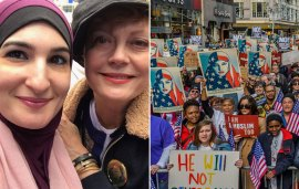Plenty Of Celebrities Joined The 'I Am A Muslim Too' Rally In New York