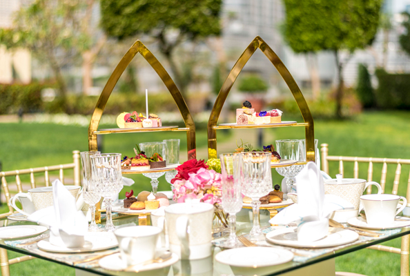 bulgari afternoon tea