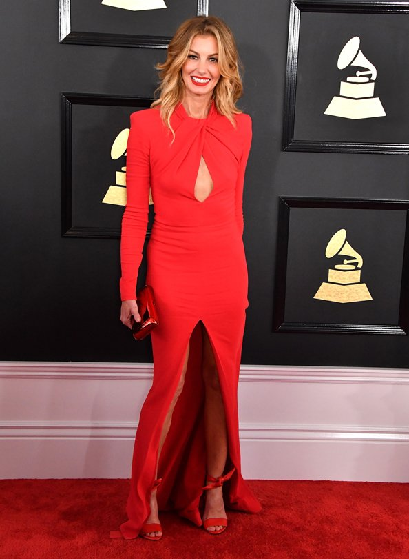 faith hill zuhair murad grammy