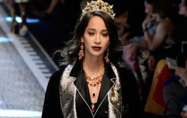 This Middle Eastern Blogger Just Slayed The Dolce & Gabbana Runway