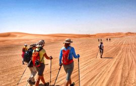These Women Are Going To Trek 120km Across The UAE For A Great Reason