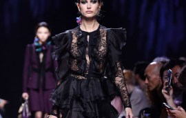 Everything You Need To Know From Elie Saab's Paris Fashion Week Show