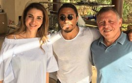 Salt Bae Works His Magic On The King And Queen Of Jordan