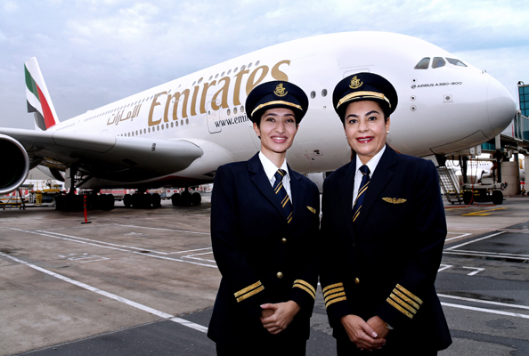 emirates female pilots