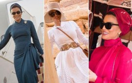 Sheikha Mozah Has Been Giving Us So Much New-Season Inspiration This Week