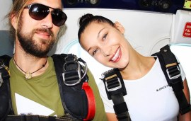 Sky-High Supermodel: Bella Hadid Goes Skydiving In Dubai