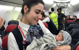Turkish Airlines Cabin Crew Just Helped To Deliver A Baby At 42,000 Feet