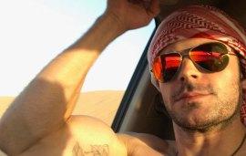 Zac Efron Ticks Desert Dune Bashing Off His Dubai Bucket List