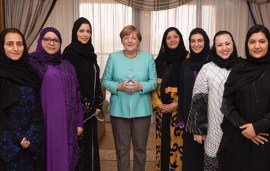 Angela Merkel Acknowledges 'Significant Changes' In Role Of Saudi Women