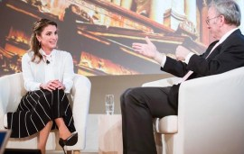Queen Rania: 'We Need To Stop Thinking Of Refugees As A Problem'