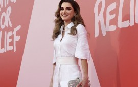 Queen Rania Has Won A Humanitarian Award For Her Work With Refugees