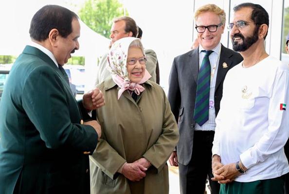 sheikh mohammed queen elizabeth II