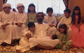 Sheikh Mohammed Spent Eid Surrounded By Family After Jetting Back From The UK