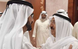 The Latest On Qatar: Sheikh Mohammed Meets With Kuwait Ruler