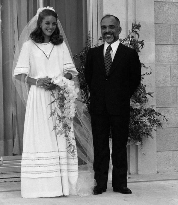 Hussein bin Talal, King of Jordan, and Queen Noor