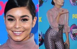 Vanessa Hudgens Wore A Lebanese Designer To The Teen Choice Awards
