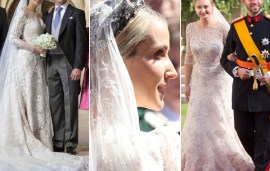 7 Of The Most Stunning Royal Wedding Gowns Dreamt Up By Arab Designers