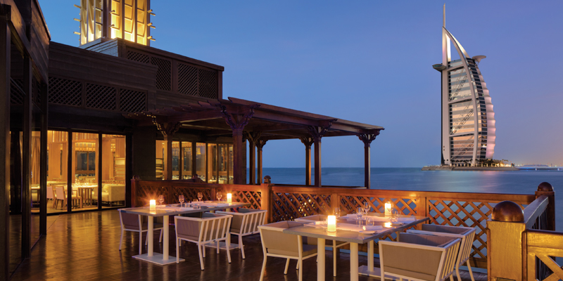 For an over-the-water seafood dining experience: Pierchic at Jumeirah Al Qasr, Madinat Jumeirah