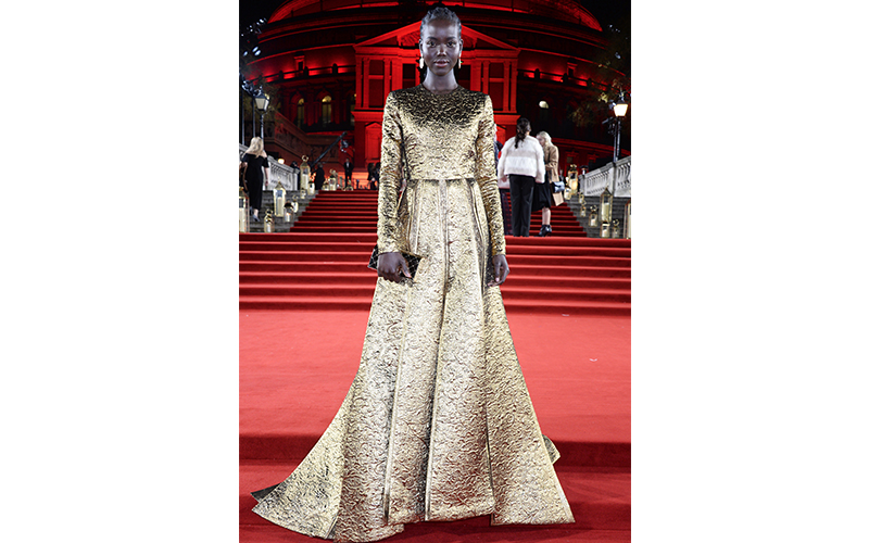 best dressed at the British Fashion Awards 2018