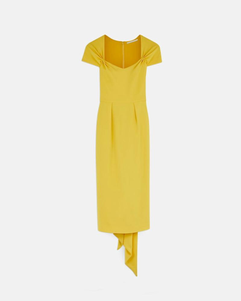 Amal Clooney Stella McCartney yellow dress