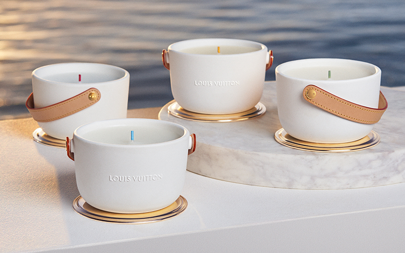 luxury candles louis vuitton