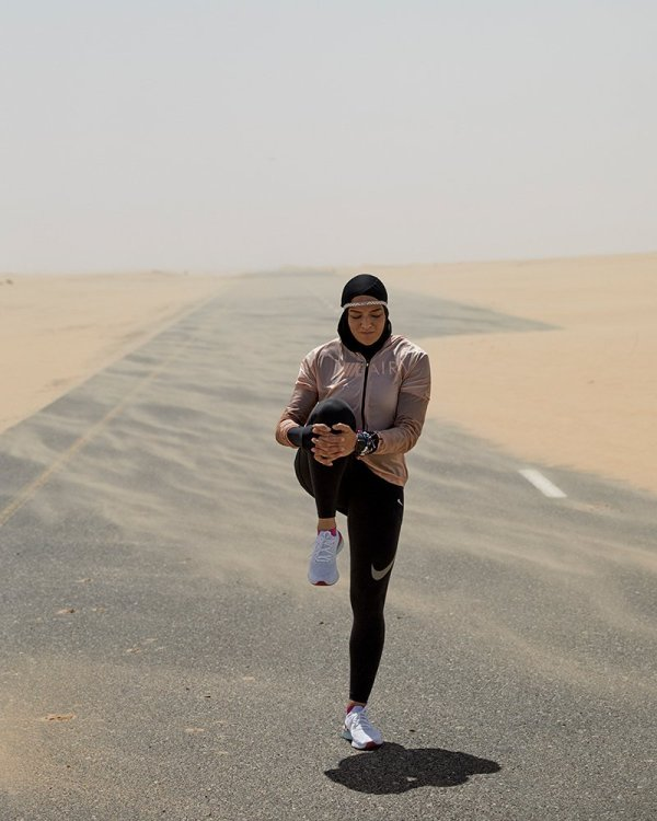 manal rostom nike pro hijab