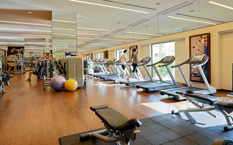 luxurious hotel gym memberships Dubai