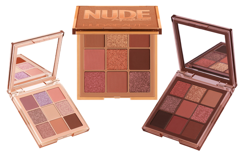 Huda Beauty Nude Obsessions eyeshadow palettes
