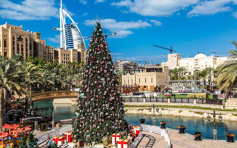 christmas tree dubai