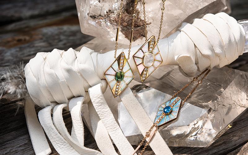 Jacquie Aiche jewellery designer interview emirates woman dubai uae 2020