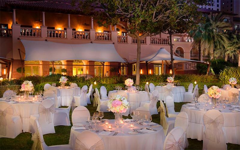 romantic wedding venue uae
