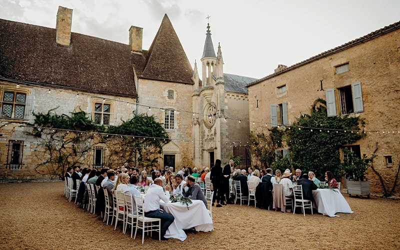 south of france wedding Chateau inspiration