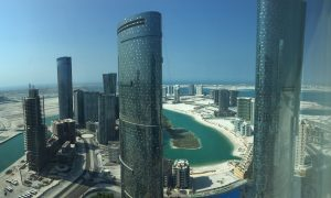 Clear View of Abu Dhabi Reem Island
