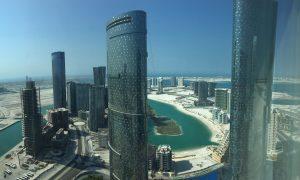 Clear View of Abu Dhabi Reem Island