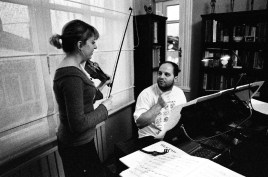January, 29th/2006 Rehearsal with Marina Chiche - 4