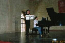 May 24th/2007 - Rehearsing with Chen Halevi