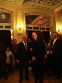 October 30th/2005 - After Pera Recital with Hüseyin Özgen