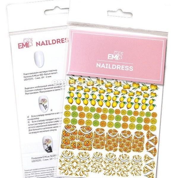 Naildress Slider Design Nr.7 Citrus