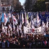 Cientos de miles marcharon por pan y trabajo en la celebración de San Cayetano