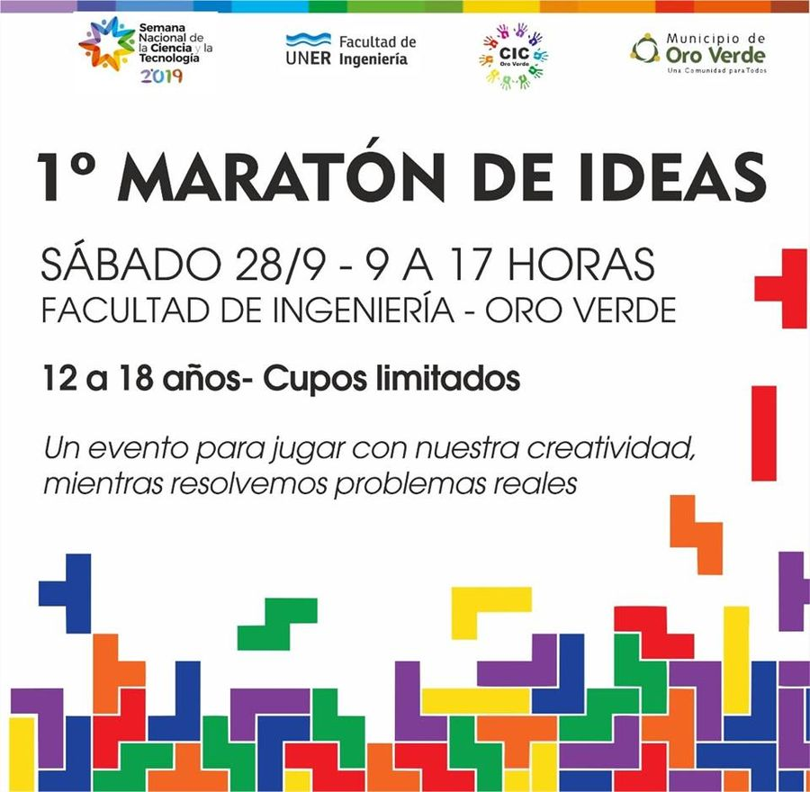 Primer Maratón de Ideas