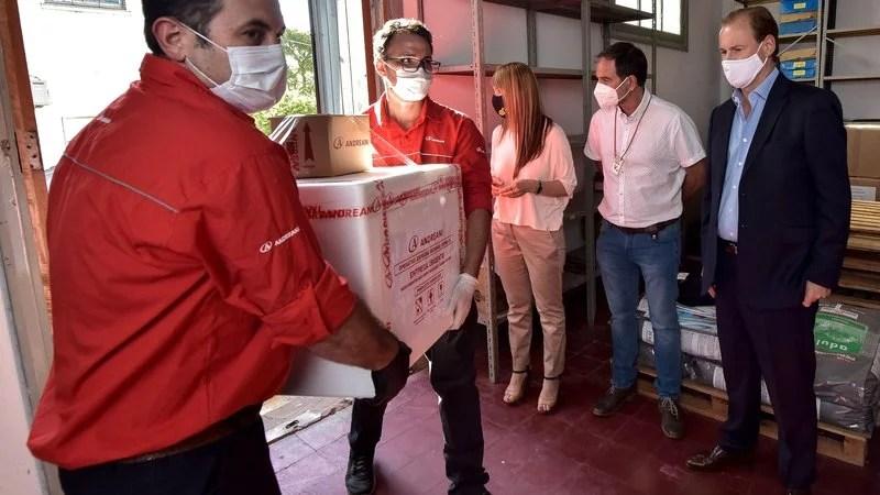 5.000 dosis de vacunas contra el Covid llegaron a Entre Ríos