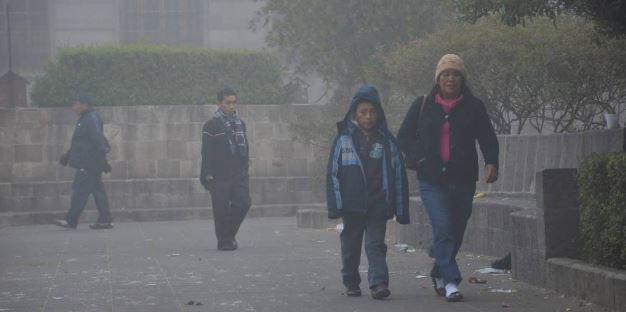 Frío en occidente del país EU Emisoras Unidas Guatemala