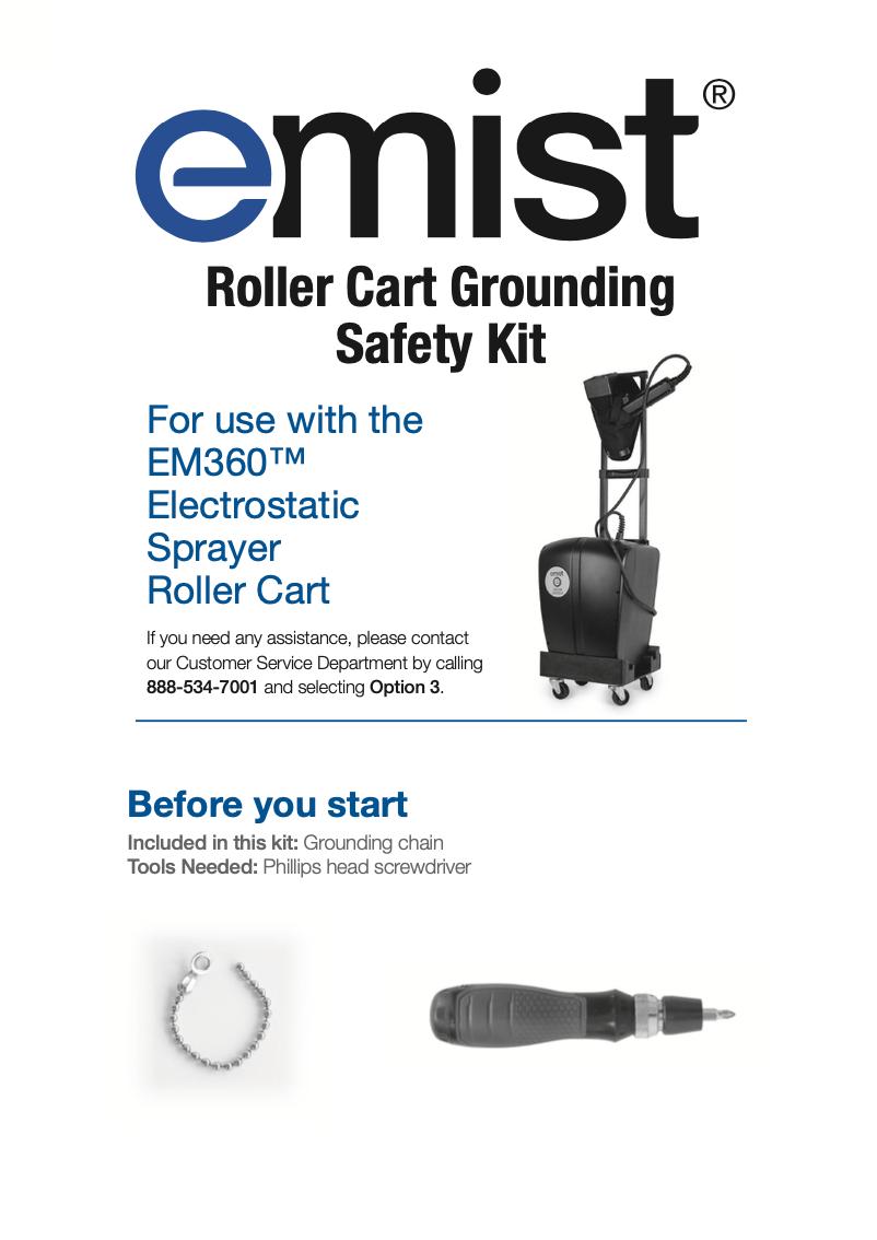 Rollert Cart Safety Kit 9.20