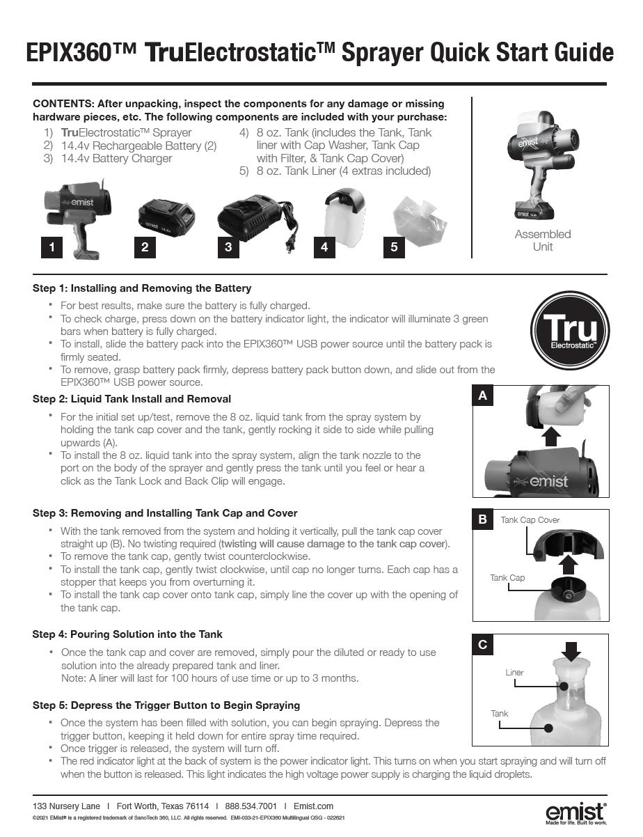 EPIX360 Guide