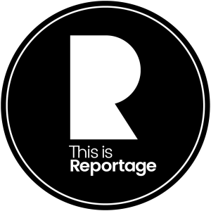 this is reportage logo