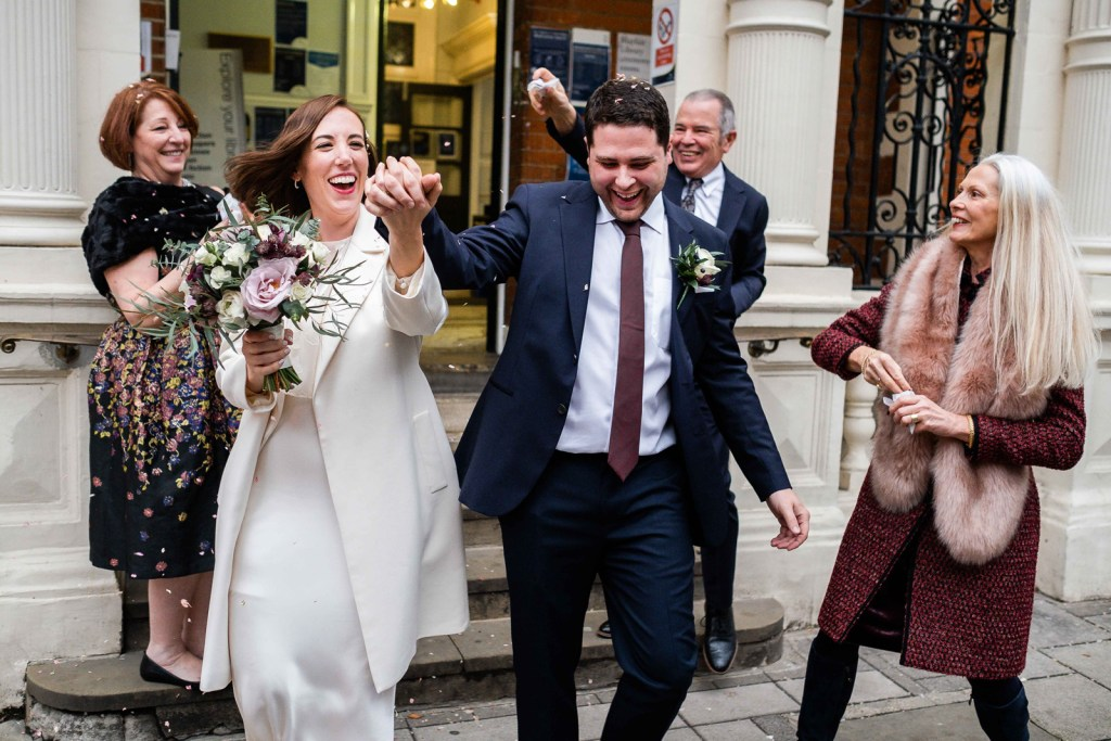 Mayfair Library Wedding   Kelly & Max Intimate Ceremony