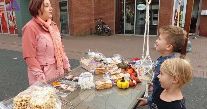 Succesvolle dag op markt Heythuysen.