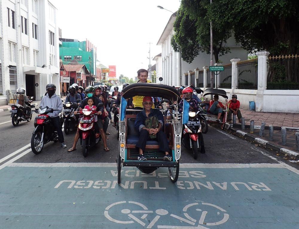 becak_Yogyakarta