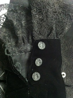 Witch Gown, 2013 - Sleeve Detail